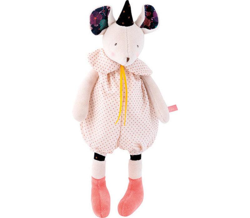 Moulin Roty 'Il Etait Une Fois' Cuddly Toy Doll Mouse 30 cm