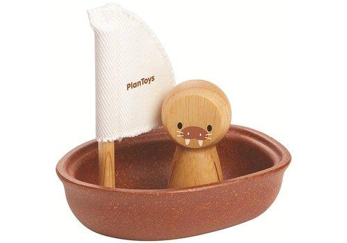 Plan Toys Plan Toys Zeilboot Walrus