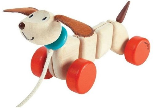 Plan Toys Plan Toys Pull Toy Happy Puppy