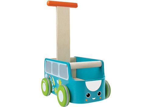 Plan Toys Plan Toys Loopwagen Blauwe Bus