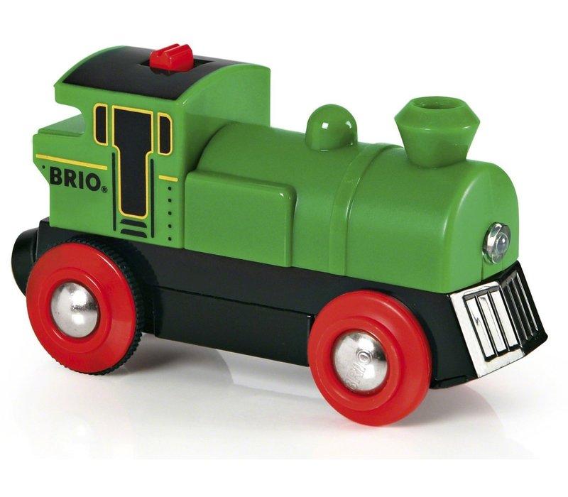 Brio Kleine Groene Locomotief Op Batterijen
