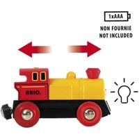 Brio Kleine Geel/Rode Locomotief Op Batterijen