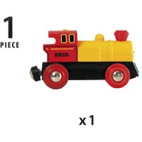 Brio Small Yellow/Red Locomotive On Batteries