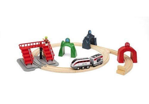 Brio Brio Smart Tech Engine Set with Action Tunnels