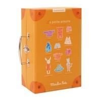 Moulin Roty Little Wardrobe Suitcase 'La Grande Famille'