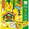 Djeco Djeco Sticker Stories The Magical Forest