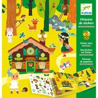 Djeco Sticker Stories The Magical Forest