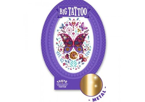 Djeco Djeco Big Tattoo Vlinder