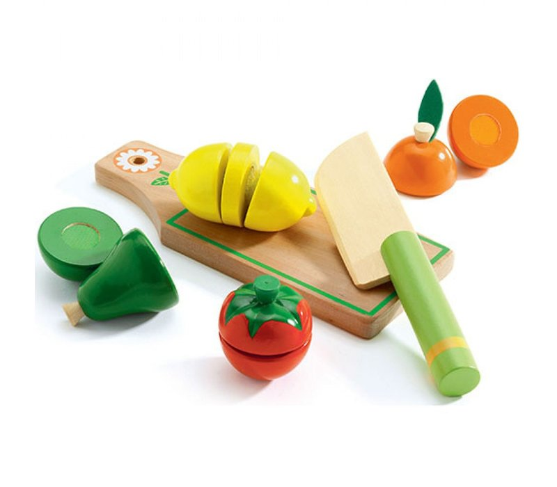 Djeco Fruits and Vegetables Cutting Set