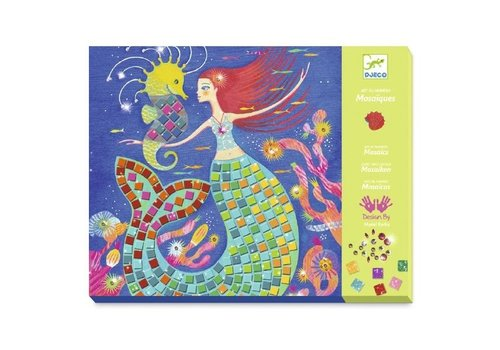Djeco Djeco Mosaics Kit The Mermaids' Song