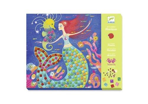 Djeco Djeco Mozaïek Set Het Lied van de Zeemeerminnen