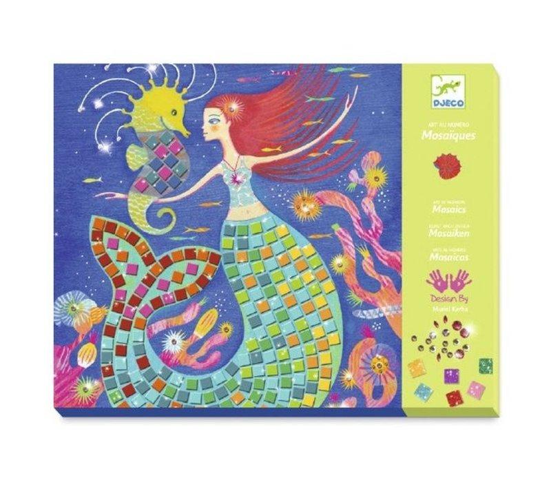 Djeco Mozaïek Set Het Lied van de Zeemeerminnen