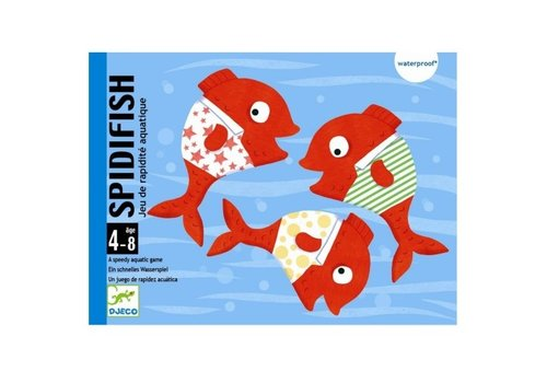Djeco Djeco Card- and Bathgame Spidifish