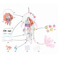 Djeco Do It Yourself Dreamcatcher To Create Mermaid