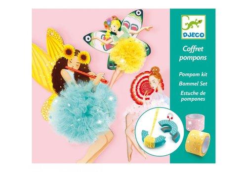 Djeco Djeco Pompom Kit Fairy