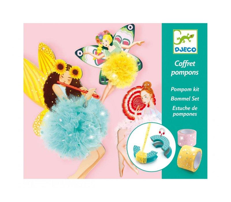 Djeco Pompom Kit Fairies