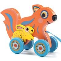 Djeco Pull Toy 'Max & Ola'