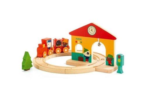 Djeco Djeco Minitrain Handling Game
