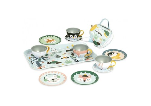 Vilac Vilac Musical Tea Set 14 pcs