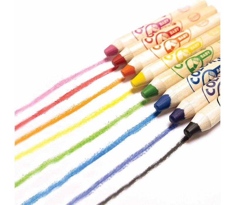Aladine Colors Baby Jumbo Pencils