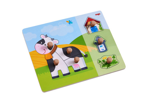 Haba Haba Clutching Puzzle Annabell the Cow