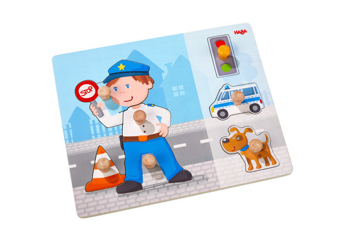 Haba Haba Clutching Puzzle Police Deployment