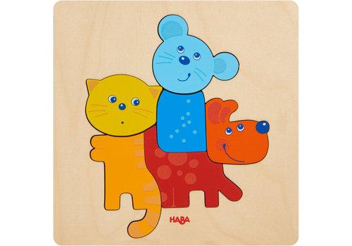 Haba Haba Houten Puzzel Huisdieren
