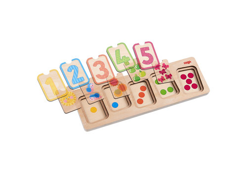 Haba Haba Wooden Puzzle First Numbers