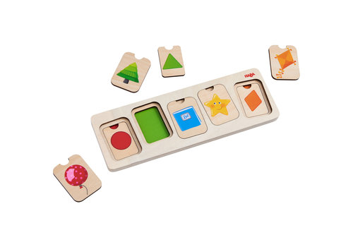 Haba Haba Wooden Puzzle Colors & Shapes