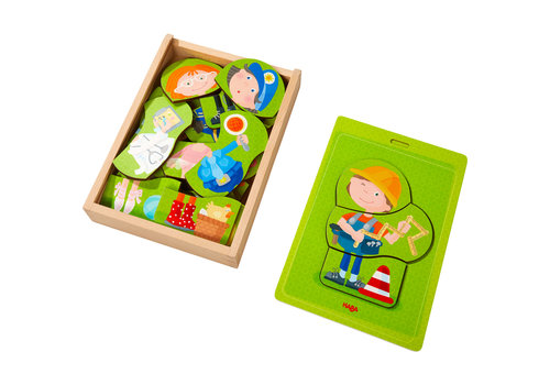 Haba Haba Wooden Puzzle Tools of the Trade
