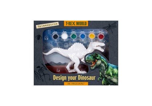 Die Spiegelburg T-Rex World Spinosaurus om te Beschilderen