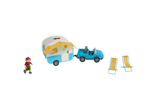 Haba Haba Little Friends Play Set Camper Vacation