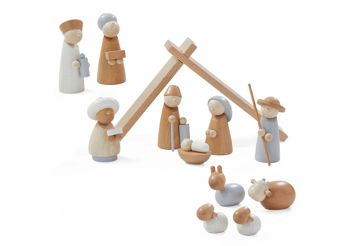 Haba Haba Nativity Set