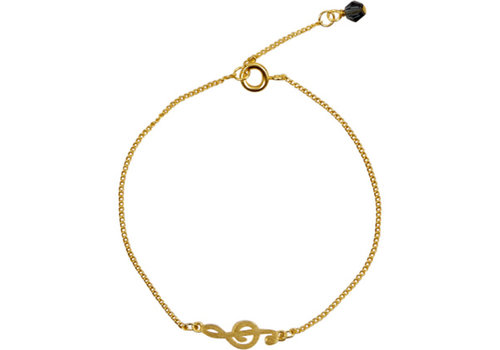 Die Spiegelburg Gold Bracelet All About Music