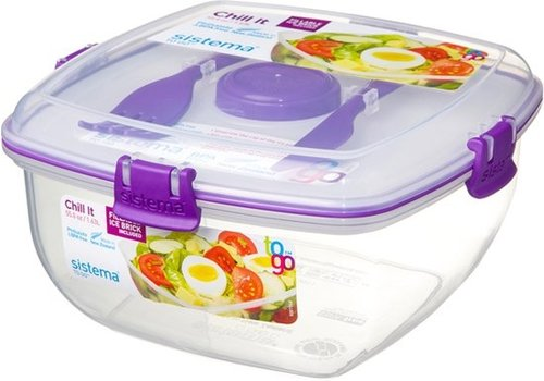 Sistema Sistema To Go Lunch Box Chill It Met Koelelement 1,63 L Purple