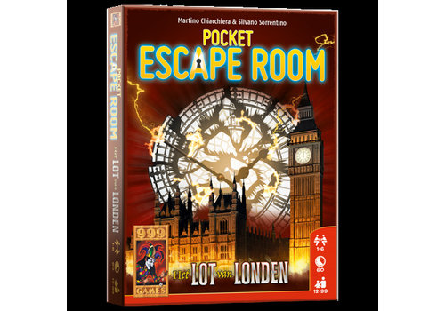999 Games 999 Games Pocket Escape Room Het Lot van Londen