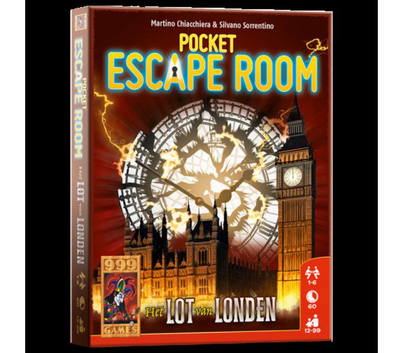 999 Games Pocket Escape Room Het Lot van Londen