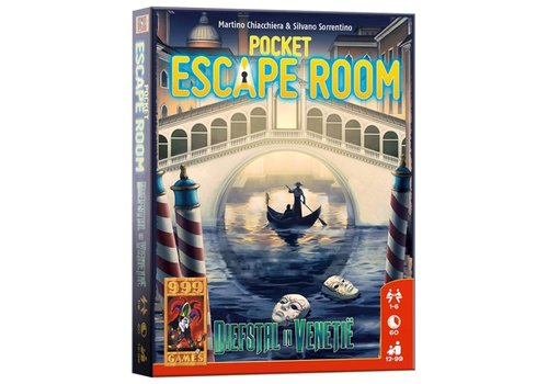 999 Games 999 Games Pocket Escape Room Diefstal in Venetië