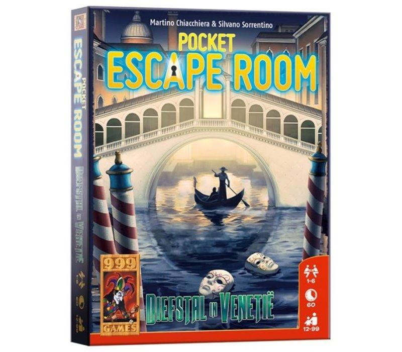 999 Games Pocket Escape Room Diefstal in Venetië