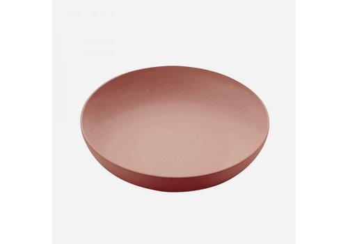 Point-Virgule Point-Virgule Bamboo Fiber Salad Bowl Terracotta 32,5 cm