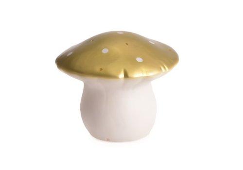 Heico Heico Lamp Mushroom Medium Gold