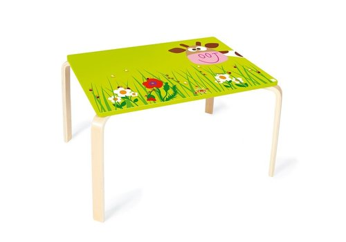 Scratch Scratch Table Marie the Cow