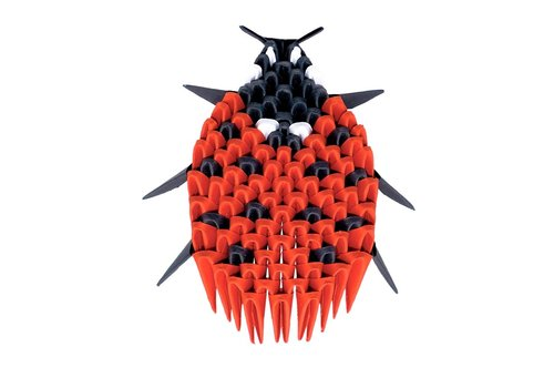 Creagami Creagami  Lieveheersbeestje Origami Extra Small 109 st