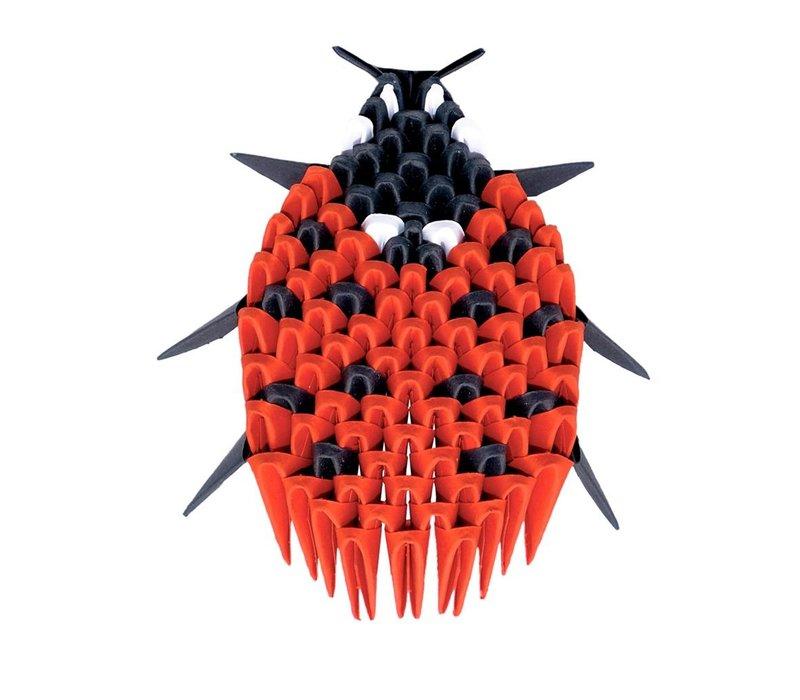 Creagami Lady Bug Origami Extra Small 109 pcs