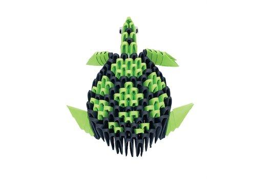 Creagami Creagami Turtle 3D Origami Extra Small 134 pcs