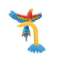 Creagami Parrot 3D Origami Small 243 pcs