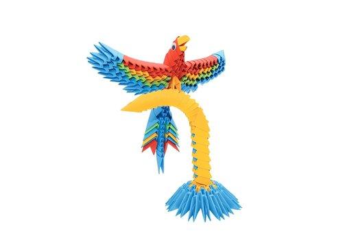 Creagami Creagami Parrot 3D Origami Small 243 pcs
