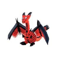 Creagami Dragon 3D Origami Medium 463 pcs