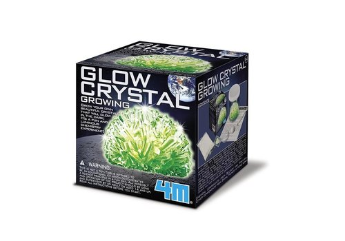 4M 4M Science In Action: Glow Crystal Growing