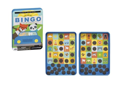 Petit Collage Petit Collage Magnetisch Spel On-The-Go: Bingo